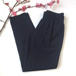 J Crew dark navy pants